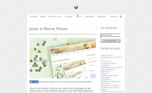 Jeu en ligne alternatif - Morne Plaine