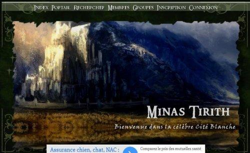 Bienvenue à Minas Tirith !