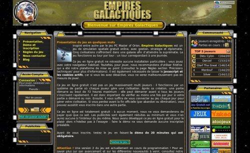 Empires Galactiques