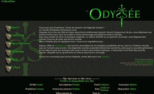 Odyssée, jdr médival-fantastique en ligne et gratuit