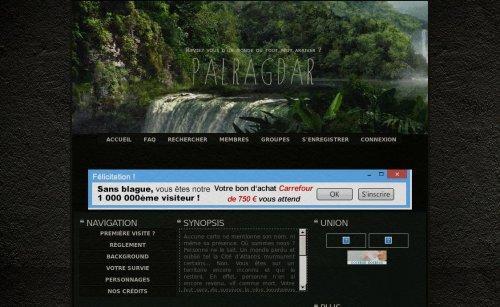 Palragdar :: L'île du Crâne