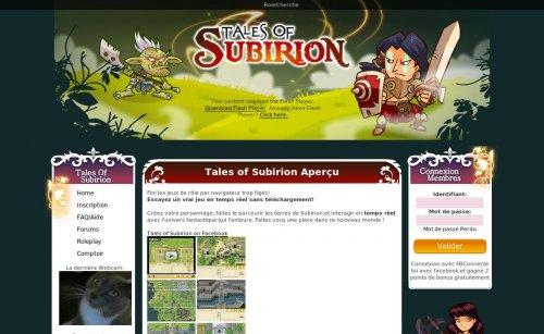 Tales Of Subirion