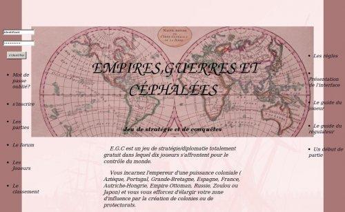 Empires, guerres et céphalées