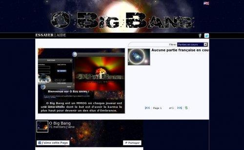 O Big Bang - Les chroniques d'Ombrance