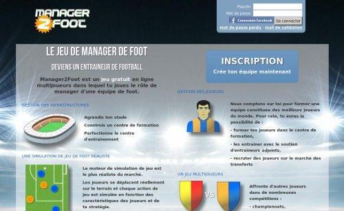 Manager2Foot, le jeu de foot