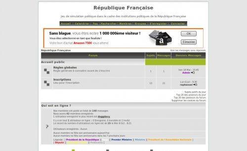 Simulation république française