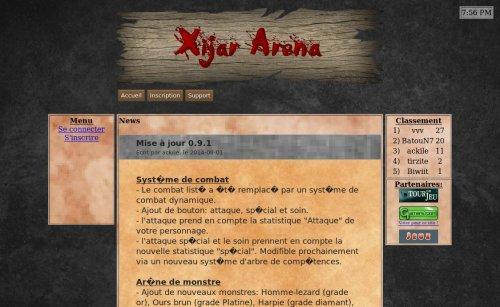 Xijar arena