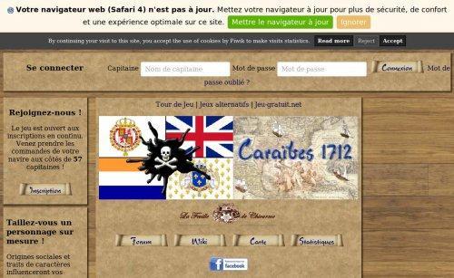 Caraïbes 1712