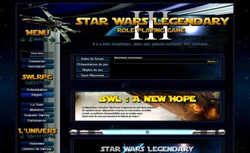 Star Wars Legendary RPG