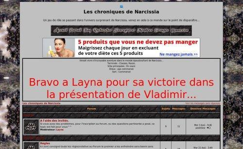 Les chroniques de Narcissia