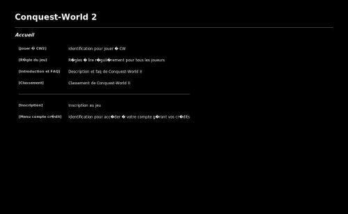 Conquest World 2